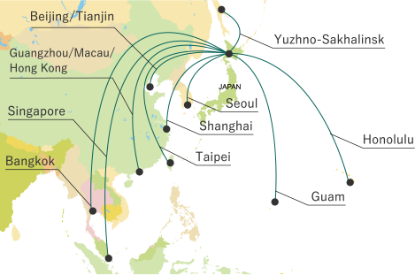 Access to Japan