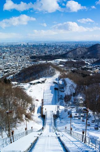 スキージャンプ場イメージ